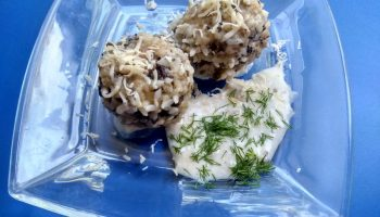 «Ёжики из грибного фарша» — новый рецепт котлеток без мяса