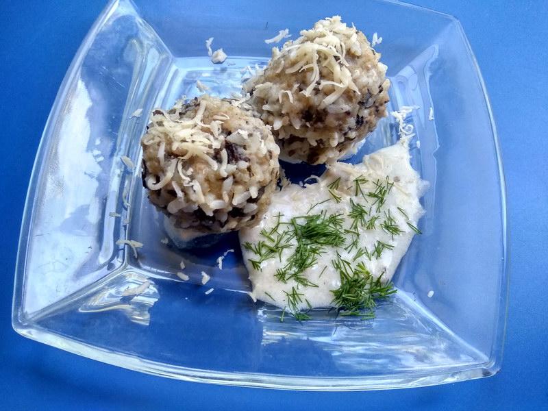 «Ёжики из грибного фарша» - новый рецепт котлеток без мяса