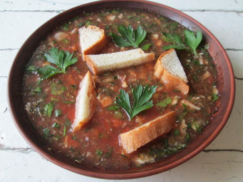 Рецепт моего любимого «Летнего супа» или гаспачо на новый лад