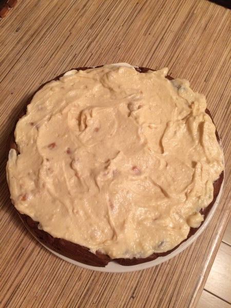 Польский торт «Карпатка» из заварного теста