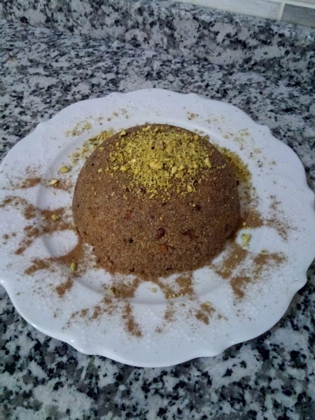 Как готовят десерт «Халва из манки с фисташками» в турецких ресторанах – подробный рецепт