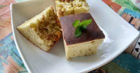 Пирог из ревеня (давно использую этот «фрукто-овощ», действительно вкусно)