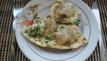 «Минтай в омлете» — рецепт нового блюда из моей любимой рыбы