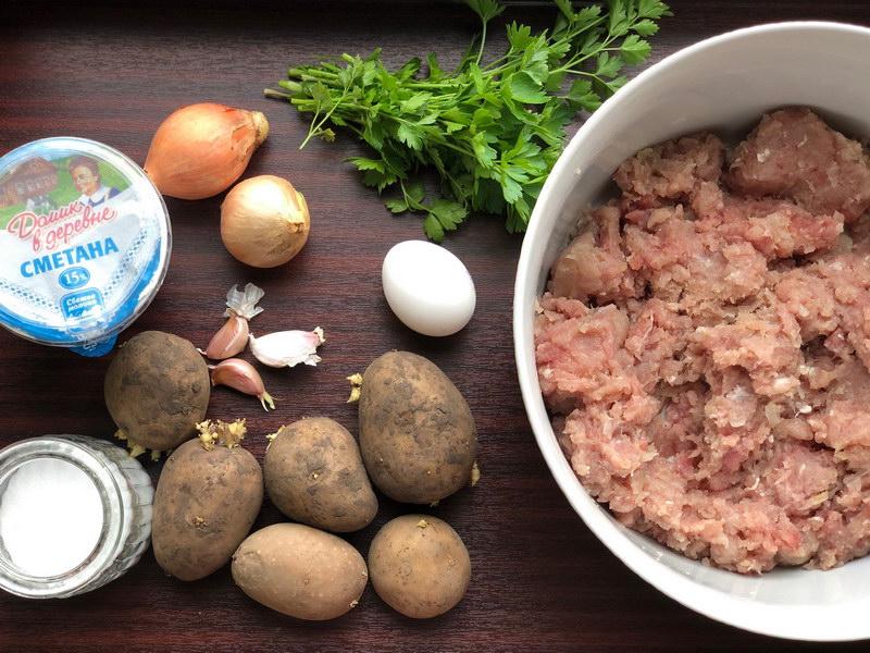 Не просто котлетки с картошкой, а вот такая мясная запеканка