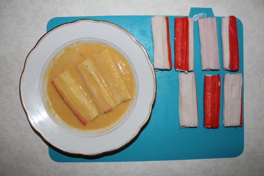 Жареные крабовые палочки – обалденная закуска «на скорую руку»