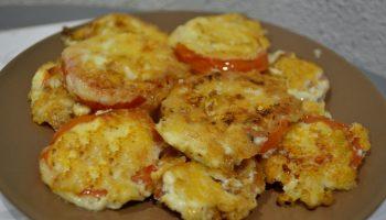 «Помидоры в сыре» — копеечная закуска на праздничное застолье
