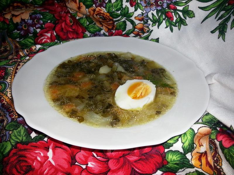 Наварю-ка вкусных щей… Любимый рецепт «Щей из щавеля с яйцом»