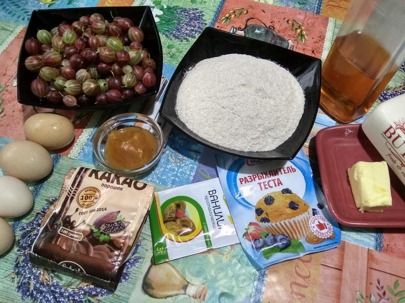 Шикарный пирог с крыжовником - мой летний хит с необычным вкусом кислинки и сладости
