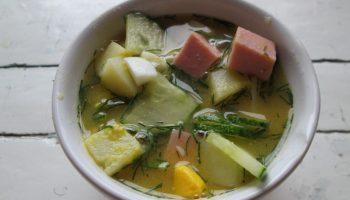 Мой самый оригинальный летний суп «Окрошка на пиве» — не просто выпивка с закуской, а полноценное первое