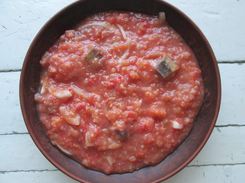 «Густой холодный суп с селёдкой!» - Для самой жары, отличная альтернатива окрошке