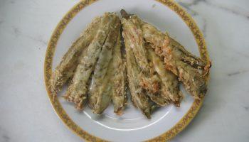 Баклажановый веер – моя оригинальная закуска к летнему застолью