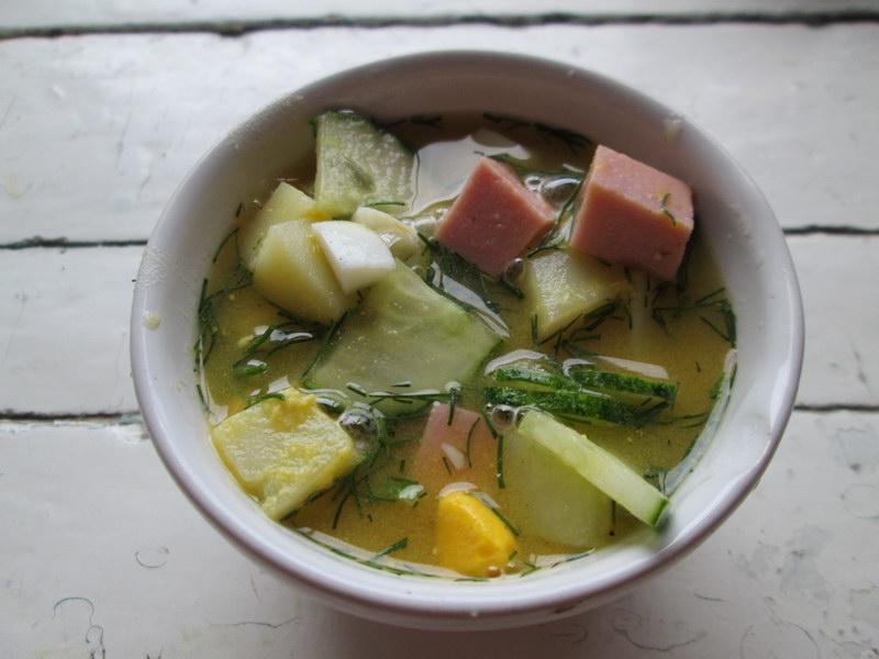 Мой самый оригинальный летний суп «Окрошка на пиве» - не просто выпивка с закуской, а полноценное первое