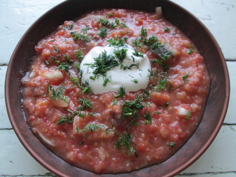 Рецепт «Итальянский суп с рыбой» для самой жары, отличная альтернатива окрошки