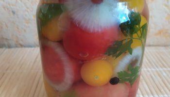 Рецепт консервации помидорок «Черри» без стерилизации