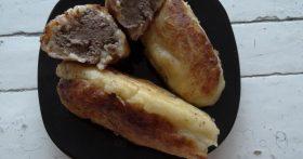 Рецепт вкуснющих пирожков: тесто – картошка, начинка – печёнка