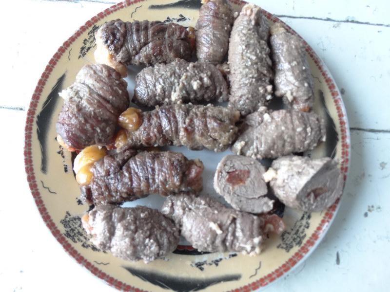 Семейный рецепт мясных пальчиков с начинкой