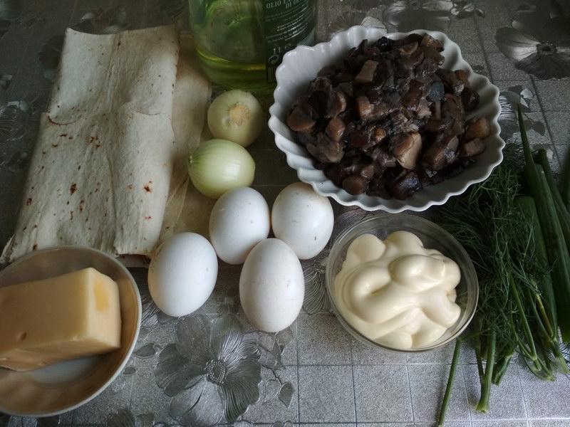 Осенняя закуска из лаваша на праздник и будни (давно вытеснила привычные бутерброды на моих застольях)