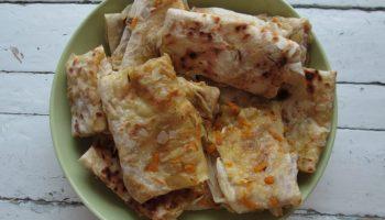 Тонкие узбекские лепёшки Юпка — как их тонко раскатать и легко обжарить на сковороде