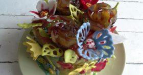 Торт «Цветы» — мой самый праздничный из праздничных тортов. Вкусно, не тяжело и красиво!