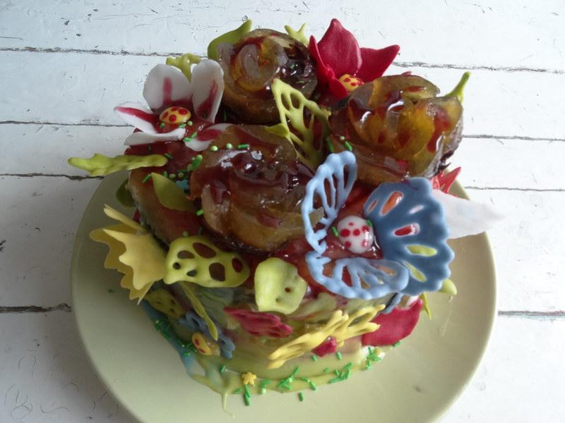 Торт «Цветы»