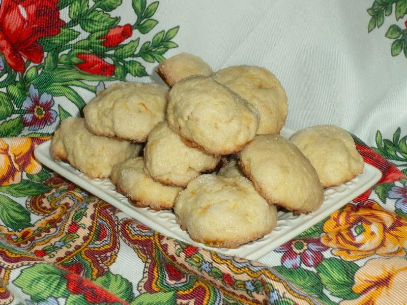 Итальянское лимонное печенье - то самое, которое готовят на праздники
