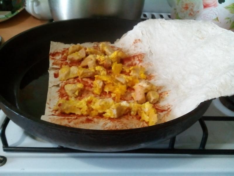 Хрустящая закуска «По-корейски» в лаваше (часто готовлю своим детям и внукам, очень им нравится начинка)