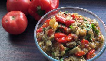Расскажу, как приготовить в духовке наивкуснейшее блюдо из овощей «Аджапсандал». На Кавказе — популярно везде