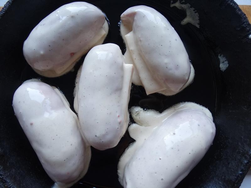 Готовлю «Сардельки в кляре» - на завтрак: просто чудо