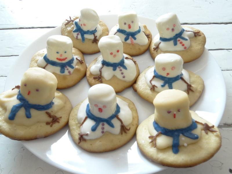 Зимняя кулинарная история «Снеговик растаял»