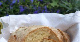 Итальянский хлеб «Чиабатта» — оказалось совсем не сложно, теперь всегда пеку дома сама