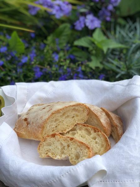 Итальянский хлеб- чиабатта