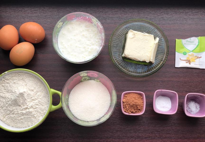Как я пеку пирог «Зебра» на кефире и мой рецепт полосатости
