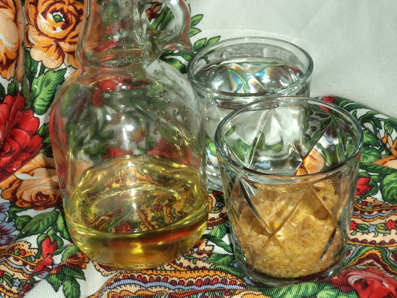 Салат «Курабье» с крабовыми палочками