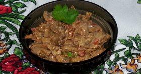 Куриные желудочки «По-селянски» — влюбилась в это блюдо сразу. Вкус изысканный, а цена копеечная