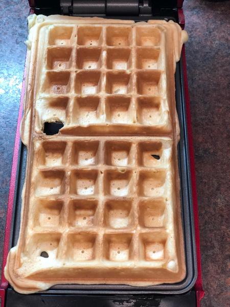 Мой отточенный рецепт «Венских вафель» для электровафельницы. Пышные и мягкие, в меру сладкие