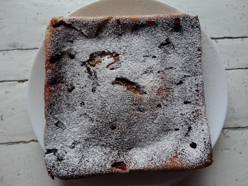 Сливовая шарлотка - просто потрясающе вкусный пирог