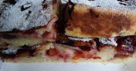 Сливовая шарлотка — просто потрясающе вкусный пирог