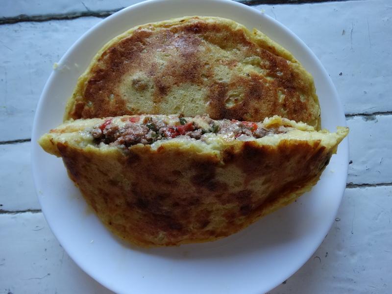 Вкусный пирог на сковороде
