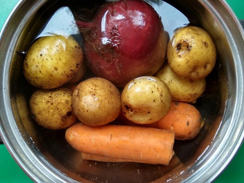 Рецепт винегрета с кабачком. Такой же любимый салат только на новый лад и с «изюминкой»