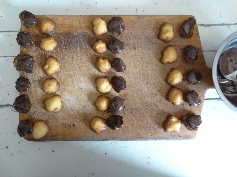 Печенье «Заварные шарики». (Один рецепт – 2 блюда!)