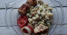 «Оливье на улет!» — рецепт с «дымком» и свежим огурцом