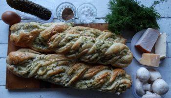 Праздничные бутерброды «под ключ» — сама выпекаю французский багет, делаю начинку и обалденный соус
