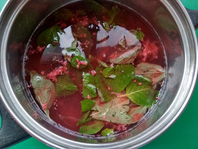 Как я готовлю вкусный «Ягодный кисель с мятой». Пошаговый рецепт с фото