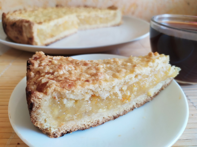 Настоящий яблочный пирог от бабушки