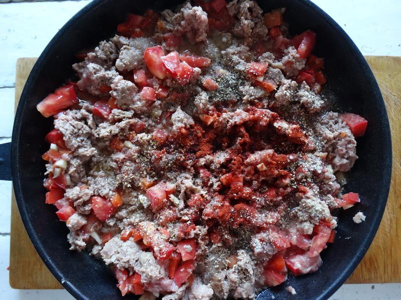 Итальянский пирог на сковороде. Не сухой и не жирный. Из картофельного теста