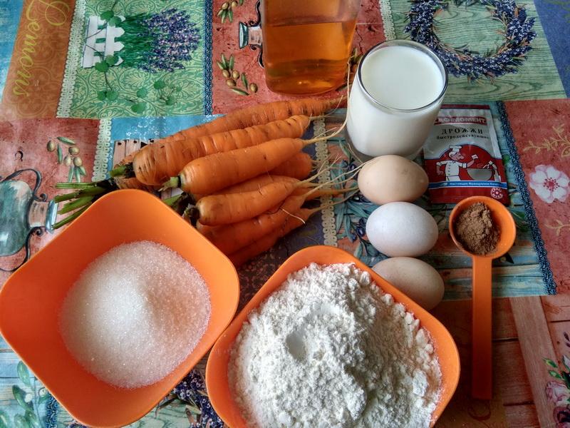 Даже не подозревала, что из моркови может быть такая вкусная начинка. Рецепт сладких булочек