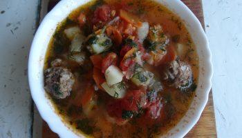 Пряный овощной суп «Мастава» из узбекской кухни на славянский лад
