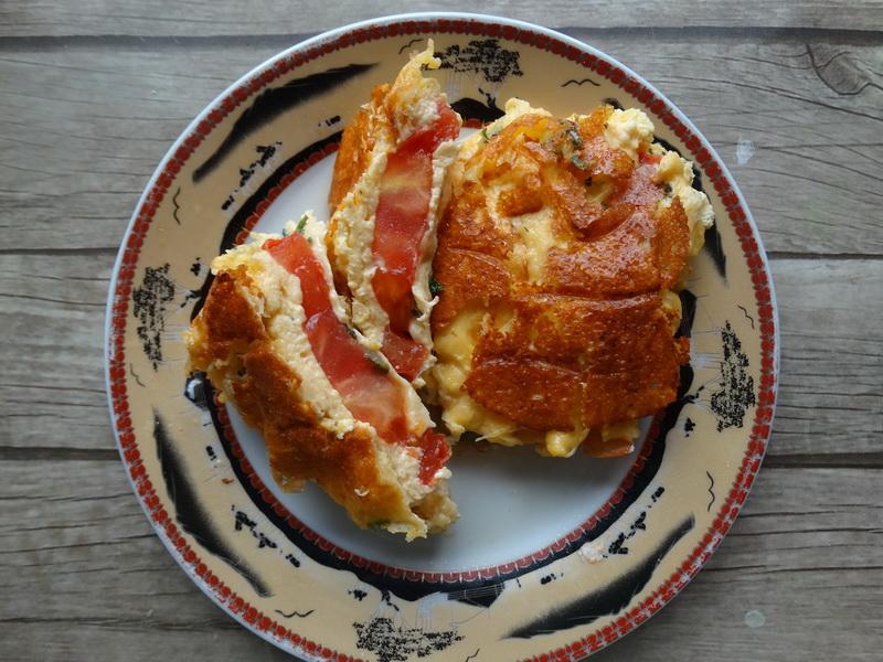 Закуска на скорую руку из помидоров