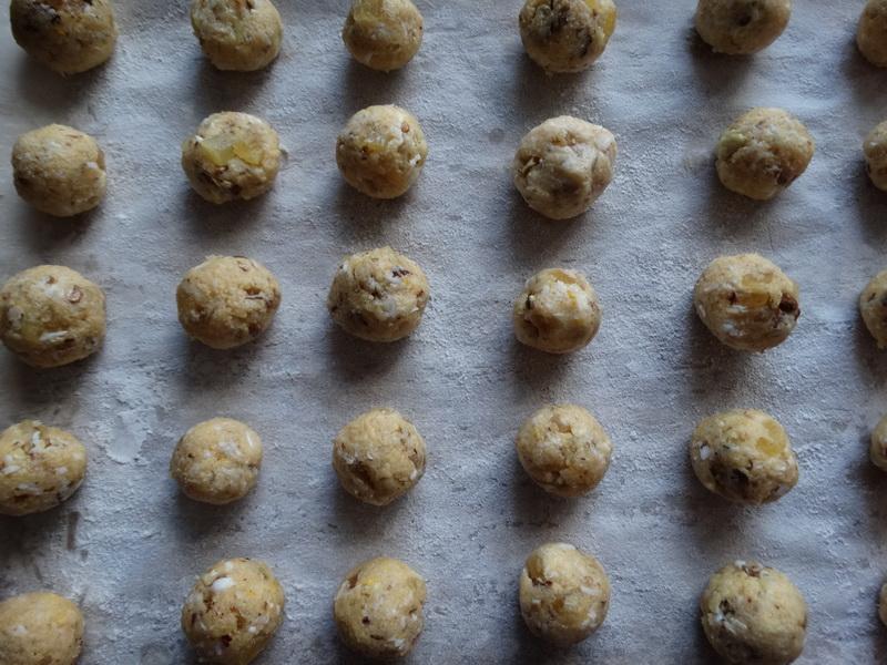 Немецкое рождественское печенье «Штолленки» - абсолютно необычное и не менее вкусно
