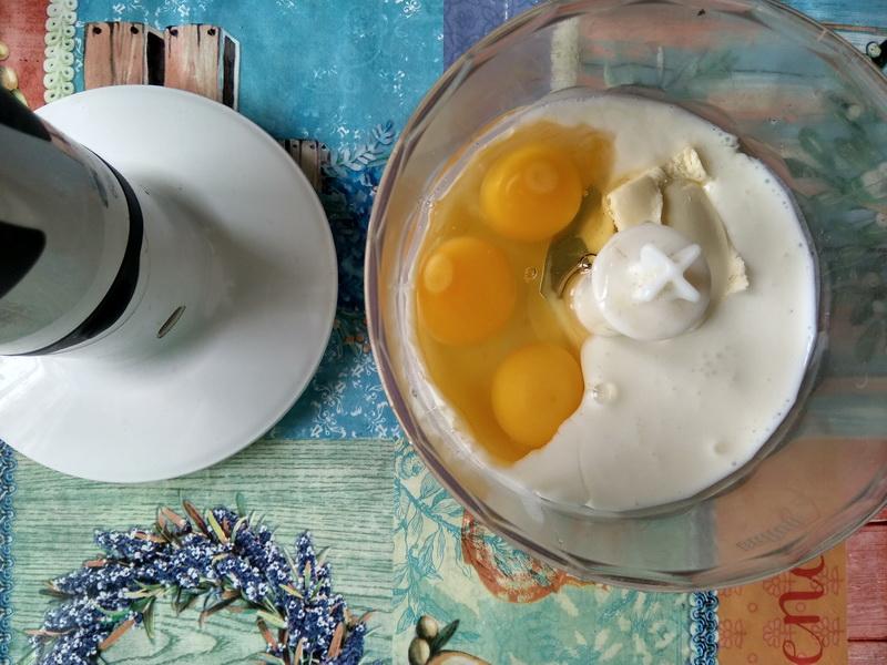Хорошая лепёшка с вишней. Рецепт в духовке, готовлю детям на завтрак